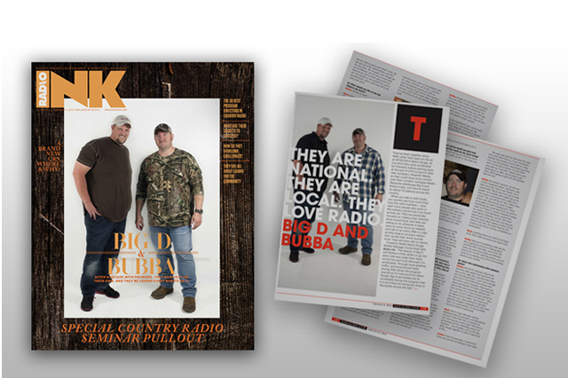 Big D and Bubba featured in RadioInk