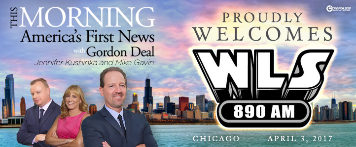 This Morning debuts debuts April 3rd on WLS-AM 890 Chicago
