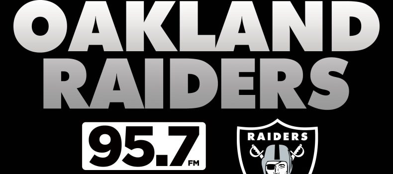 Raiders and 95.7 The GAME in cooperation with Compass Media Networks announce Radio Agreement