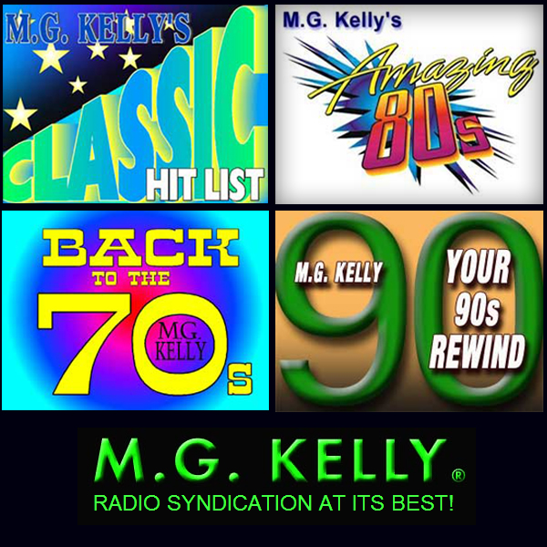 MG Kelly's Classic Hits 60s, 70s, 80s