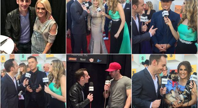 Taste of Country Nights hit the Red Carpet at the 51st Annual ACM Awards