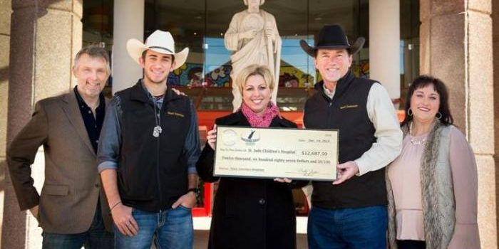 Tracy Lawrence Donates $12,687 To St. Jude