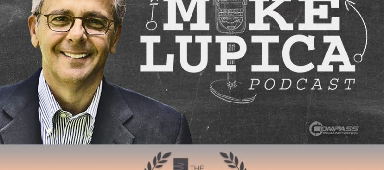 The Mike Lupica Podcast nominated for a Webby Award