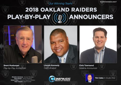 Raiders announce television and radio broadcast teams
