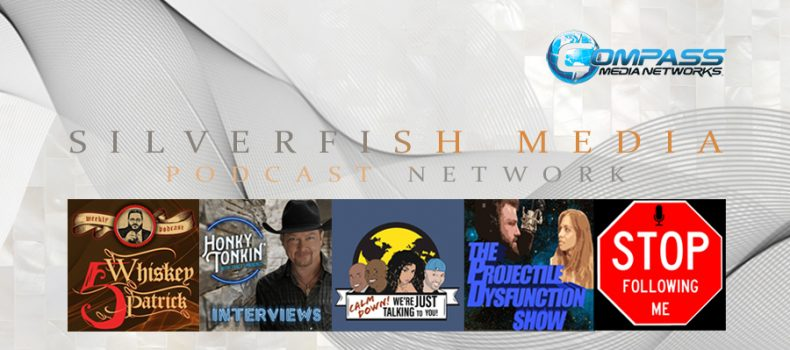 Silverfish Media and Compass Media Networks launching five new podcasts.