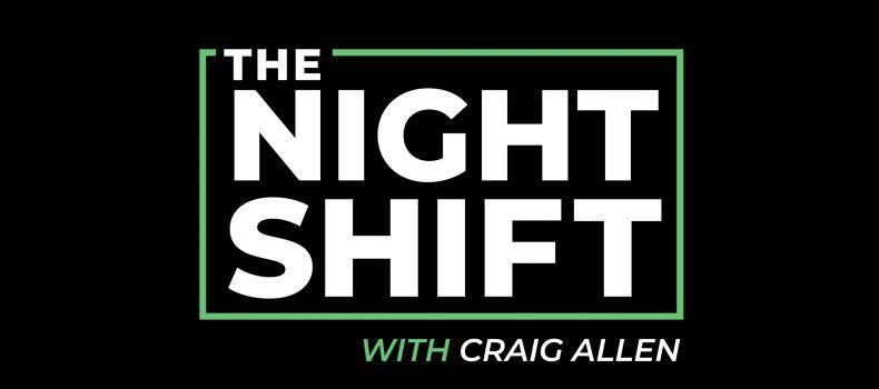 The Night Shift with Craig Allen launches on Townsquare Media Stations