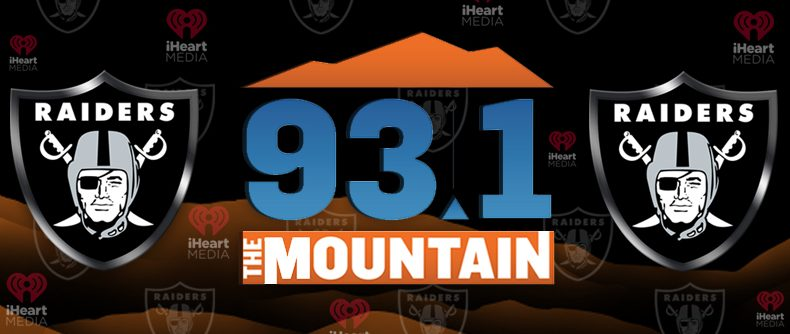 iHeartMedia Las Vegas' 93.1 The Mountain announces broadcast agreement with the Oakland raiders for the 2019 Season