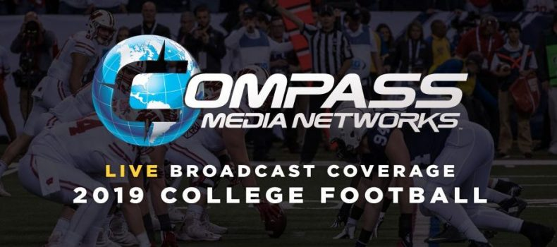 Compass Media Networks Announces 2019 College Football Schedule and Broadcast Talent