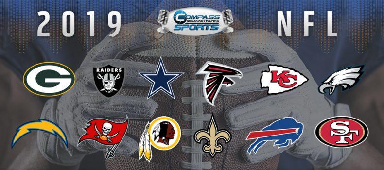Compass Media Networks Announces 2019 NFL Schedule & Broadcast Talent