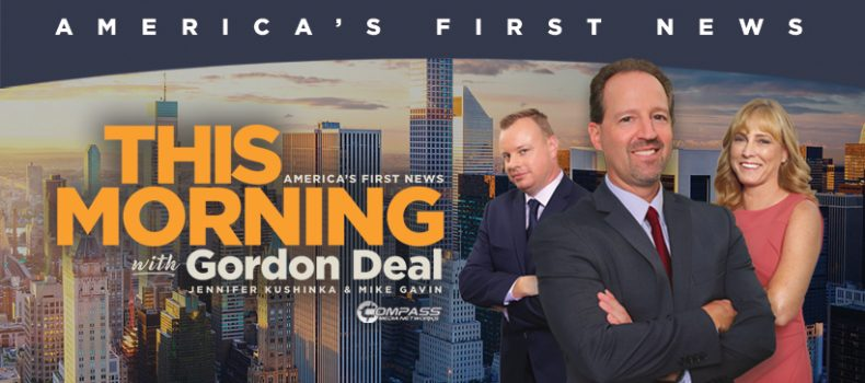 This Morning — America's First News exceeds 300 affiliates and congratulates Gordon Deal on his 15th Anniversary as host